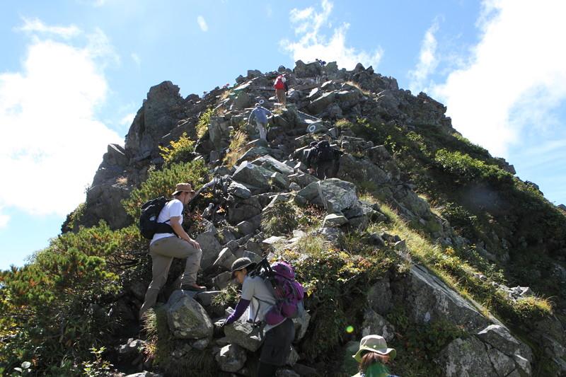 IMG_9059北アルプス西穂高岳登山