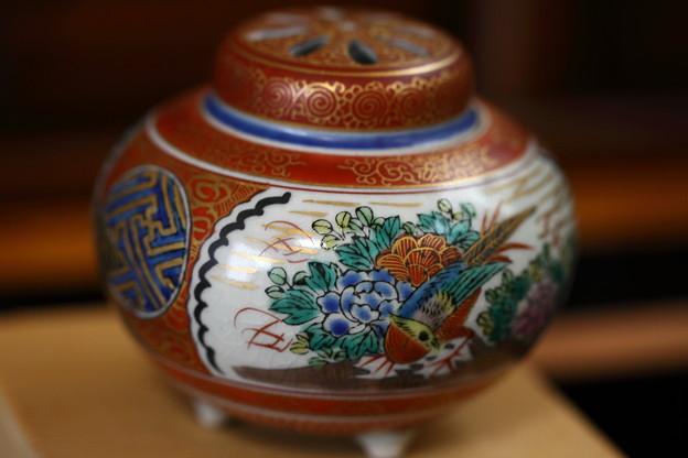 九谷焼 香炉(1)