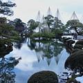 唐崎の松と霞ヶ池