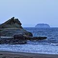 恋路海岸 奇岩