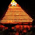 金沢百万石まつり 提灯と噴水(1)