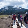 Photos: 尾瀬ヶ原(3) 木道と至仏山