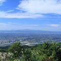 鉢伏山 山頂から  庄川と散居村