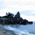 曽々木海岸 窓岩