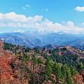 晩秋の白峰・白木峠から 白山連峰(1)