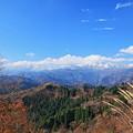 晩秋の白峰・白木峠から 白山連峰(2)