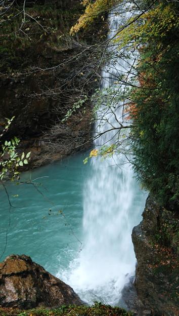 晩秋の綿ヶ滝(3)