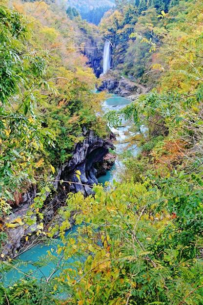 手取峡谷&綿ヶ滝