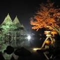 兼六園ライトアップ 秋の段(1)