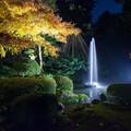 兼六園ライトアップ 秋の段(8) 日本最古の噴水
