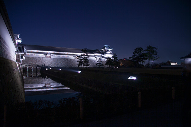 金沢城 ライトラップ(2)