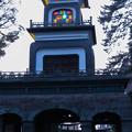 神門のギヤマン(ステンドグラス)