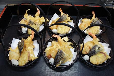 会席料理の天ぷら