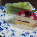 Photos: 我が家の兎虎ケーキ なんと...