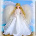 †天空より舞い降りた天使†フレーム付き☆ジェニー・フレンドドール・オリーブ/タカラ☆MACKYsの手作りドールドレス&ハンドメイドお人形お洋服