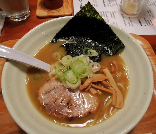 Photos: 拉麺熱 豚醤油熱(ハーフサイズ)