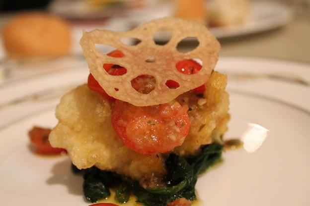シェフおまかせの魚料理