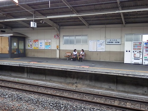 河内磐船駅の写真1