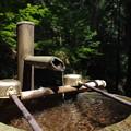 写真: 癒しの水