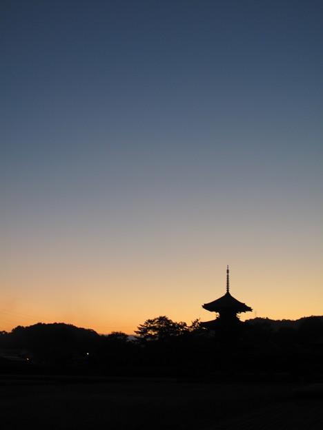 Photos: 法起寺秋景