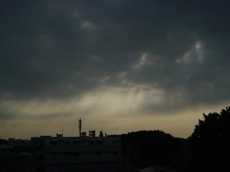 雲の裂け目