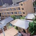 HDR 下町の学校 これも特撮模型・・20120729