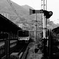 終着駅門司港・・到着した列車。。