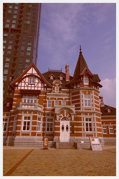 懐かしい風景。。国際友好記念図書館