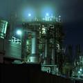 Photos: 京浜工業地帯の工場夜景 千鳥町 筋肉質な骨格・・20130126