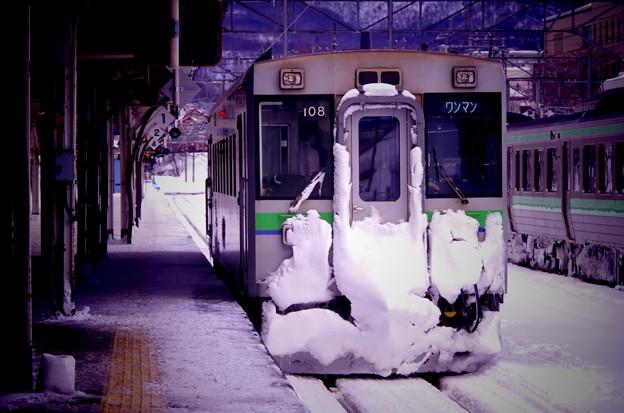 函館本線の長万部行き。。