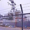 HDR メンテ改修中のアメリカ海軍のイージス艦・・20130324