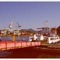 尾道から向島までの渡瀬船の風景・・20130505