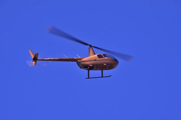 福島空港から朝、小名浜港へ飛んできたヘリ・・20130512