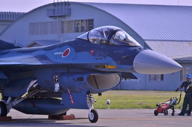 三沢基地から参加していたF-2Aも帰路準備へ
