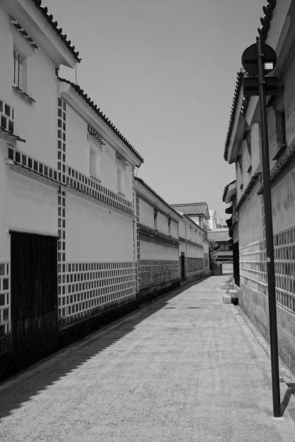倉敷美観地区 白い壁の町並み・・20130505