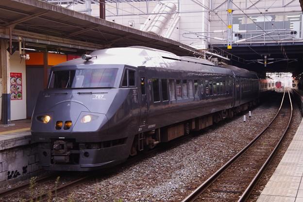 Photos: 多彩特急に使用される787系車両・・小倉駅