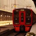 JR九州のオリジナル普通列車・・813系 門司港駅