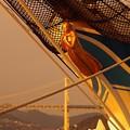 Photos: 船首にある船のエンブレム・・