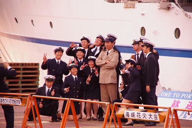 若き船乗りたち。。。
