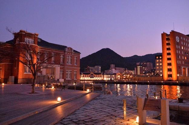 Photos: ライトアップされて綺麗な町・・門司港
