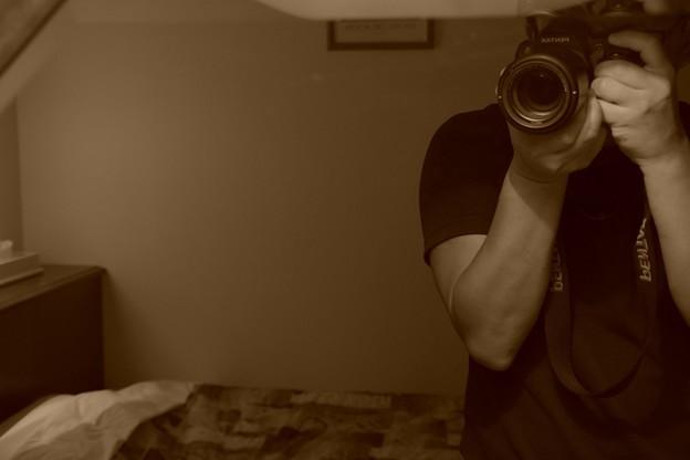 Photos: なぞの。。カメラ男・・・笑