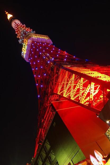 東京タワーの綺麗な姿・・20131222