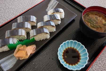 さんま寿司定食(道の駅・紀伊長島マンボウ【三重】)