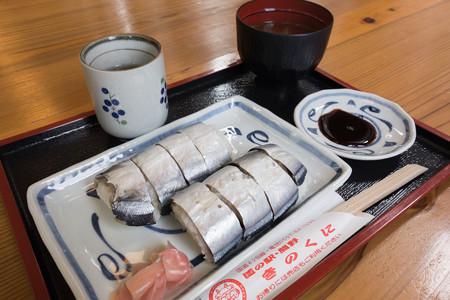 さんま寿司(道の駅・熊野きのくに【三重】)・1