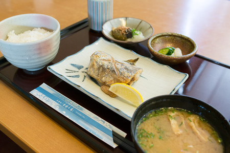 季節の焼魚定食(東名【下り】・牧之原SA)・1