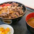 松阪牛牛丼(東名阪道【下り】・亀山PA)