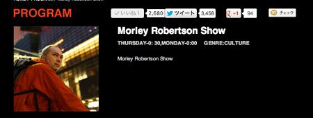 Morley Robertson show
