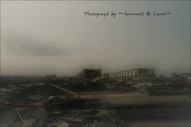 東日本大震災の名取市閖上【1】