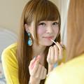美樹鏡越し笑顔2L
