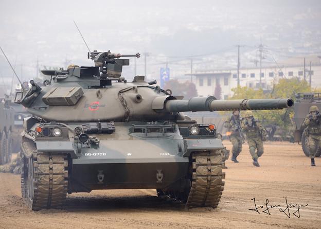 模擬戦闘74式2L
